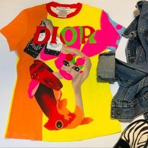 DIOR J'adore Dior POP Art Full Color Fish Head Top